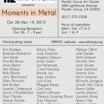 Metals in Motion - Participating Artists