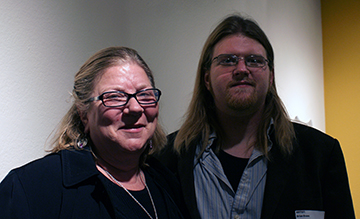 Mother - Son Artists, Pat and Brian Evans