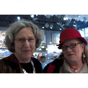 Helene Daniels and Pat Evans