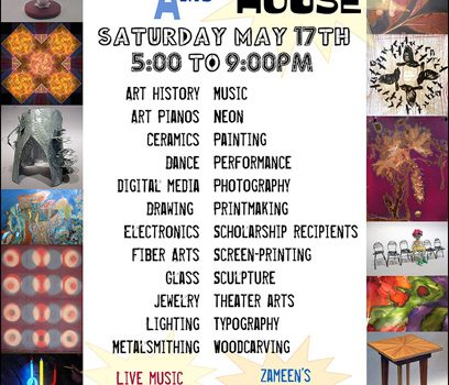 Art Party & Open House at Cabrillo