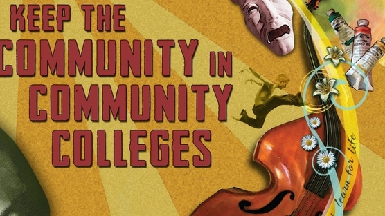 """Keep the """"Community"""" in Community Colleges!"""